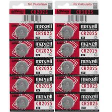 10-19 Batterie monouso per articoli audio e video CR2025