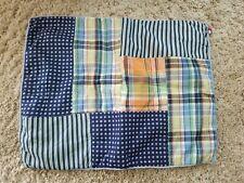 "2 Tommy Hilfiger Standard Quilted Patchwork Pillow Sham 19"" x 25"""