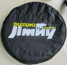 Suzuki Jimny Rhino Spare Wheel Tyre Tire Cover Bag Pouch Protector 26~27S Black