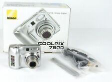 Nikon CoolPix 7600 7.1 MP Digital Compact Camera With Charger TESTED