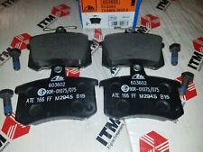 ATE OEM Rear Brake Pad Set fits Alfa Romeo 164 91-95 - Audi A4 A6 A8 S3 S4 S6 ++