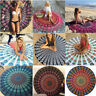 Round Mandala Indian Hippie Boho Tapestry Beach Picnic Throw Mat Blanket Chakra
