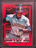 2020 Topps Fire Red Flame Foil KEN GRIFFEY JR SP MARINERS