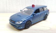 1/72 Epoch Capsule MTECH SUBARU LEGACY TOURING WAGON POLICE diecast car model