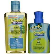 Spongebob Squarepants for Boys G/S 100ml EDT +240ml Body Wash -NEW -FREE P&P -UK