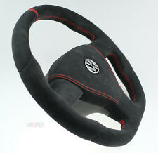 Custom steering wheel thick flat bottom VW Golf MK5 R mk V 5 Passat t5 R32 GTI