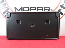 DODGE RAM 1500 FRONT License Plate Mounting Bracket Kit NEW OEM MOPAR