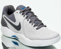 Nike Air Zoom Resistance Men Vast Grey Gunsmoke Blue Nebula Tennis 918194-044