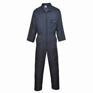 Portwest Nylon Water Resistant Overall Zipped Boilersuit Coverall - C803