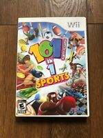 101-in-1 Sports Party Megamix CIB COMPLETE RARE (Nintendo Wii, 2011)