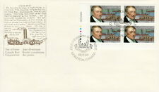 CANADA #1117 34¢ JOHN MOLSON LL PLATE BLOCK FIRST DAY COVER