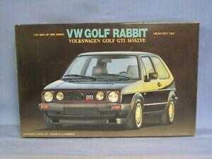 Fujimi Volkswagen Golf Rabbit GTI 16V Model Car Kit 1/24 Scale SEALED PARTS BAGS