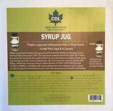 Tap My Trees Maple Syrup Jug 4 Pk Lids And Jugs New Free Shipping