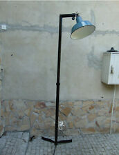 Floor lamp, industrial, vintage from the 1940s