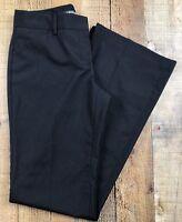 """Express Editor Black W/Gray Stripe Women's Pants Size 0R 28x31 Rise 8"""""""