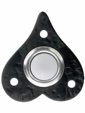 Acorn RMKBP 508H Heart Electric Bell Button Black Doorbell Push