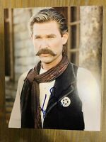 KURT RUSSELL, TOMBSTONE, HAND SIGNED 8X10 PHOTO W/COA Wyatt Earp