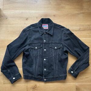 Acne Studios 1998 Used Black Denim Jacket - Size 50