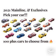 2021 Hot Wheels Main Line Series You Pick - 250+ Brand New Hot Wheels🔥🔥😮
