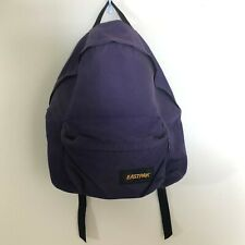Vintage 90s Eastpak Purple Nylon Backpack Made in USA