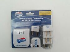 American Tourister International Converter Adaptor Set with pouch