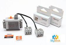 02x SBricks + 1x  Power Functions AA Battery 8881 + 2x Lego 20cm Leads 8886 Pack