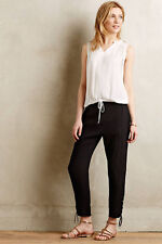 Clovis Crops Black Summer Pants Trousers By Vanessa Bruno Athe Anthropologie, 6
