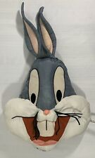 Bugs Bunny Vintage 1994 Warner Bros. Head Plush Pillow by PlayByPlay