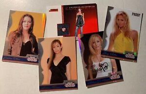 2007 Donruss Americana Private Signing Melissa Jo Hunter descript below Lot #115