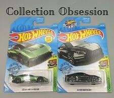 "New Hot Wheels - ""Hw Exotics"" 2-Car Set: Aston Martin Dbs + Aston Martin Vulcan"