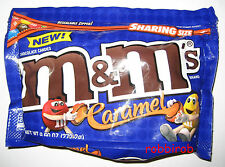 (1kg = 31,23 €) M&M´s CARAMEL im sharing size bag +++ 272,2 gr  +++