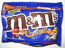 (1kg = 31,23 €) M&M´s CARAMEL im sharing size bag +++ 272,2 gr  +++