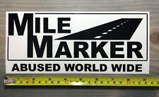 """10"""" Mile Marker Sticker Recovery Gear Accessories Racing Offroading 4x4 Decal"""