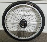 Schwinn-Stingray Chopper Bicycle Model Front Wheel & Tire Hub OCC #C