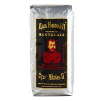 Black Leaf Tea Czar Nicholas II Nostalgia (Silver) Russian Style 8.8oz/250g