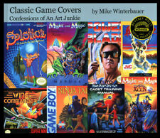 Classic Game Covers by Mike Winterbauer 2017
