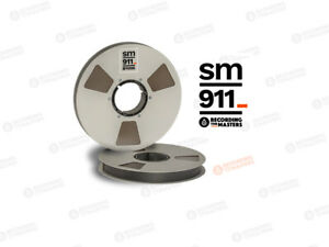 "RTM Recording The Masters SM911 34320 Tonband 1"" 2500ft 762m NAB-Metallspule"