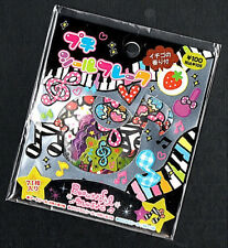 Rare Kamio Japan Beautiful Music Kawaii Stickers Sack sticker flakes
