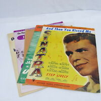Sheet Music Lot of 5 Frank Sinatra Jane Russell Carole King Judy Garland Vintage