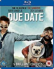 Due Date Blu-ray 2010 Region DVD