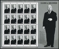 1998 ALFRED HITCHCOCK STAMPS 4th Legends of Hollywood Mint Sheet 20 x 32¢ #3226