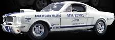 1965 Ford Mustang Shelby GT350 Drag Mel Burns 1/18 Modello Diecast funzioni APRI