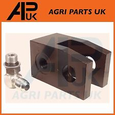 International 454 474 484 485 495 574 Tractor Power Steering Ram Cylinder Clevis
