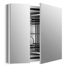 "Kohler Verdera 34"" W x 30"" H aluminum medicine cabinet with adjustable..."