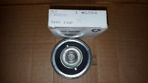 AC GT54 Gasoline Tank Cap Chrome 6410233 Vintage NOS Chevrolet Harley Davidson