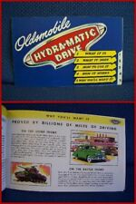 1946 OLDSMOBILE Hydra-Matic Drive Catalog Brochure - MINT New Old Stock