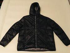 Karl Lagerfeld Paris Men's 2XL Black Quilted Puffer Hoodie Jacket NWT Size XXL