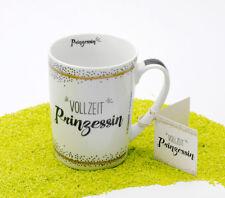 Design@Home Henkelbecher Becher Porzellan Vollzeit Prinzessin 250 ml
