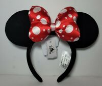 Minnie Mouse Red & White Polka Dot Bow Ears