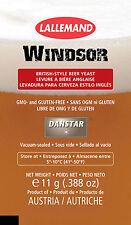 Danstar Windsor English Ale Yeast, 11g